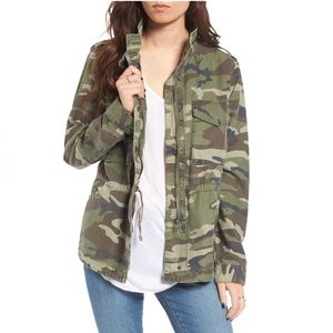THREAD & SUPPLY Outsider Camo Zip Front Jacket L